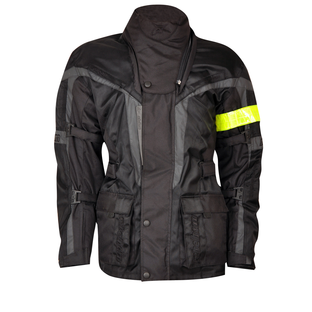 Textilní bunda Rebelhorn AVIATOR 2 černá - M
