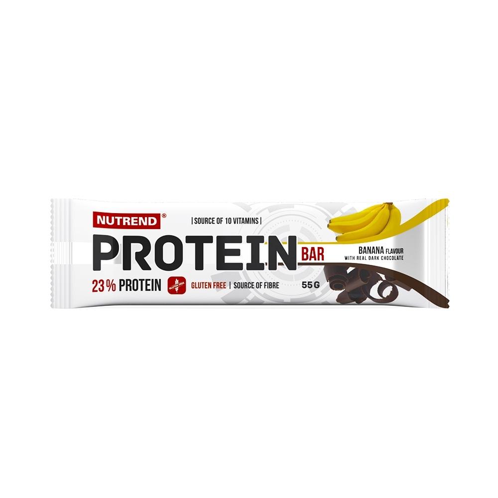 Proteinová tyčinka Nutrend Protein Bar 55g banán