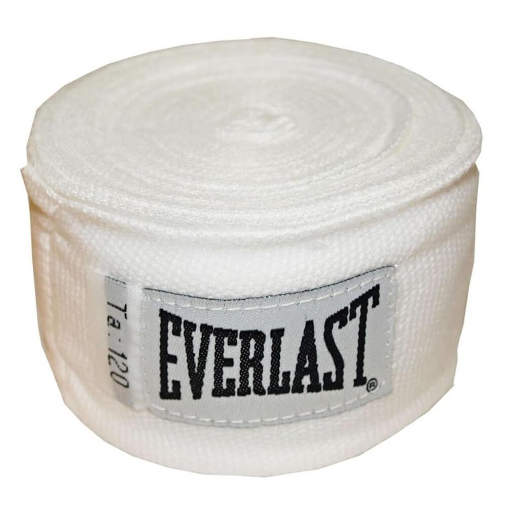 Boxerské bandáže Everlast Pro Style Hand Wraps 300 cm bílá