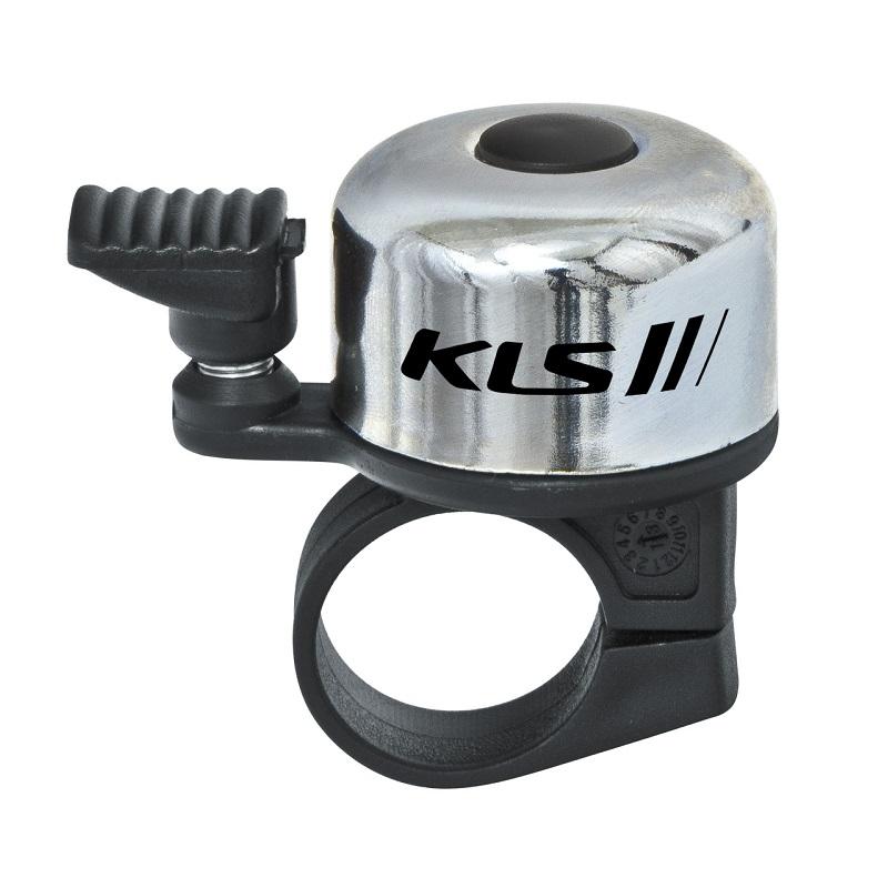 Zvonek na kolo Kellys Bang 10 stříbrná