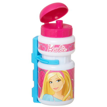 Barbie set - plastová láhev + plastový držák