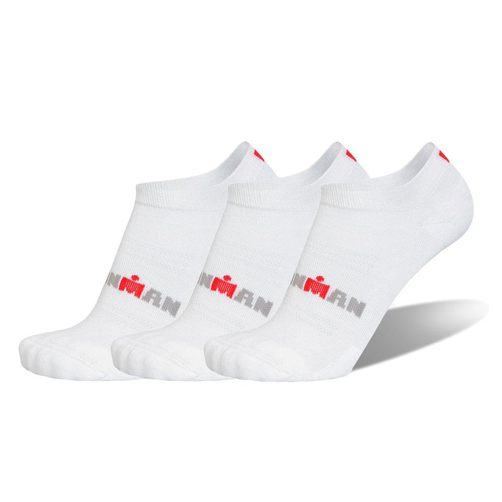 Sportovní ponožky IRONMAN Basic Low - 3 páry bílá - 39-42