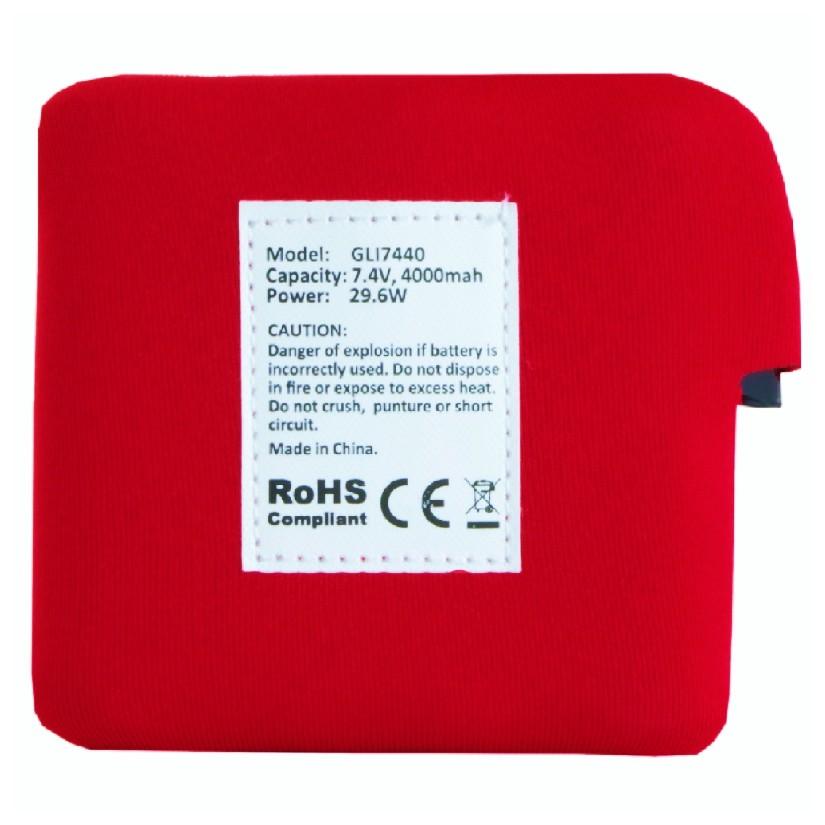 Náhradní baterie pro vyhřívanou vestu Glovii GLI7440 46560e66fd