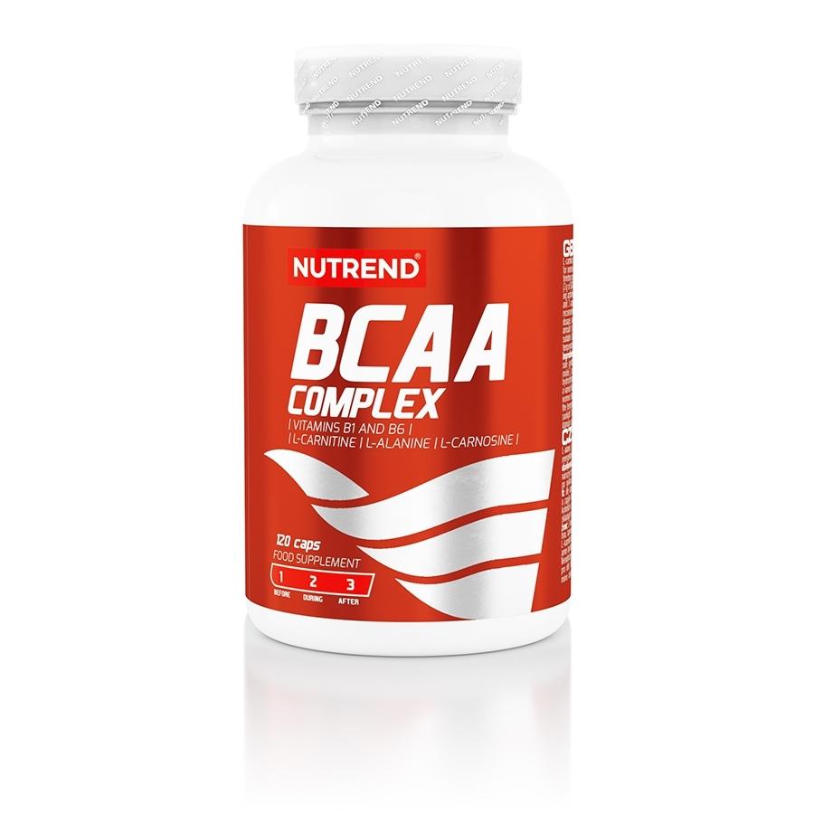 Aminokyseliny Nutrend BCAA Complex 120 kapslí
