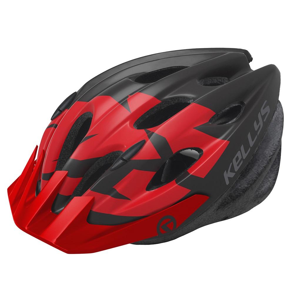 Cyklo přilba Kellys Blaze 2018 červená - M/L (58-61)