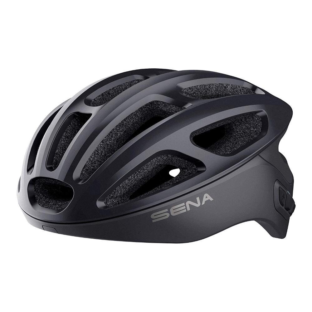 Cyklo přilba SENA R1 s integrovaným headsetem černá - M (55-59)