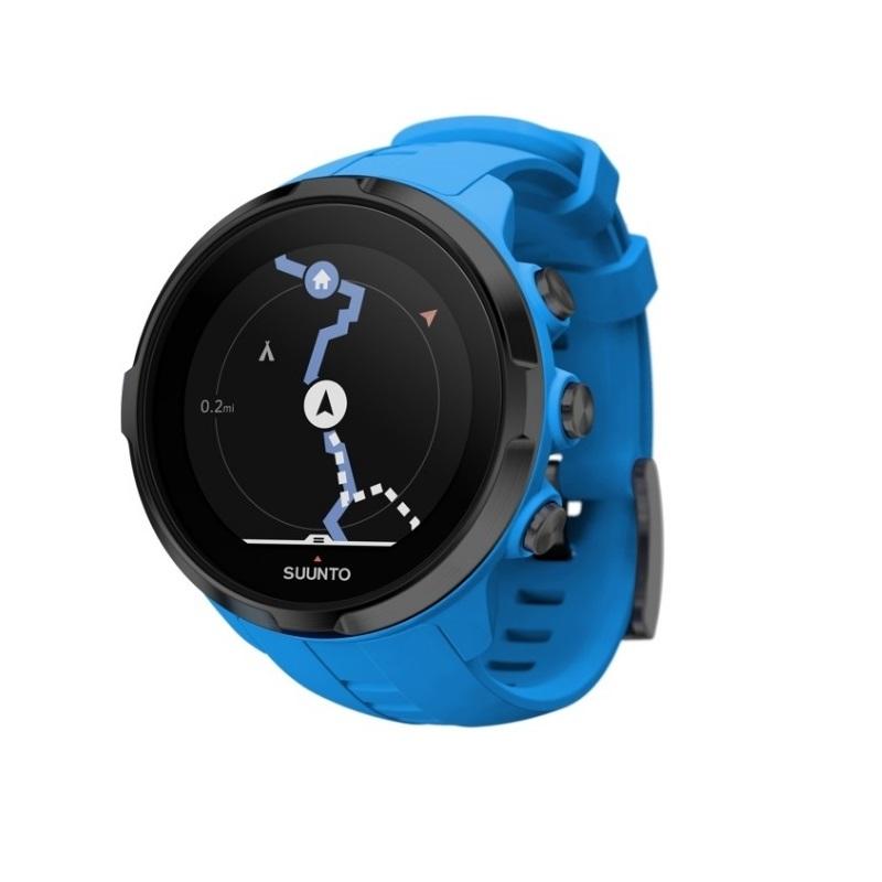 Sportovní hodinky SUUNTO Spartan Sport Wrist HR Blue