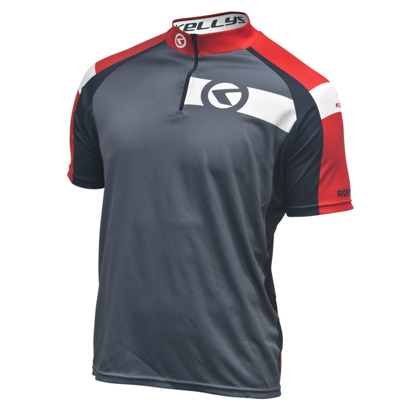 Cyklistický dres Kellys Pro Sport 2017 - krátký rukáv červená - S