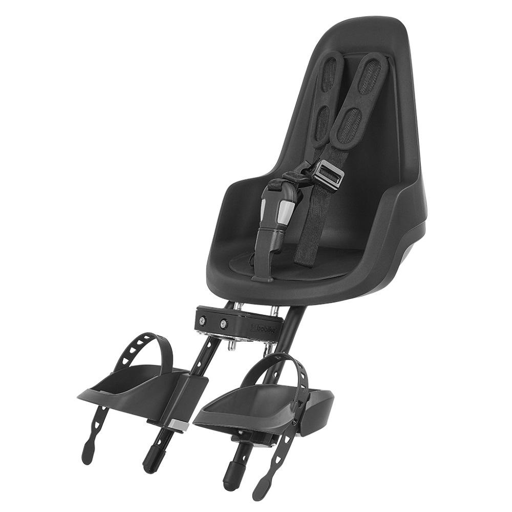Přední dětská sedačka Bobike Mini One Black