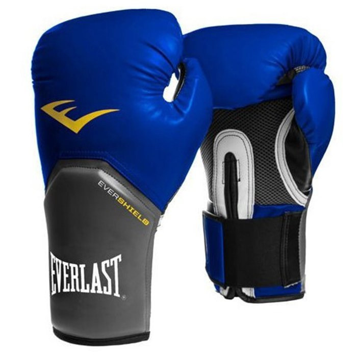 Everlast Pro Style Elite Training Gloves modrá - M (12oz)