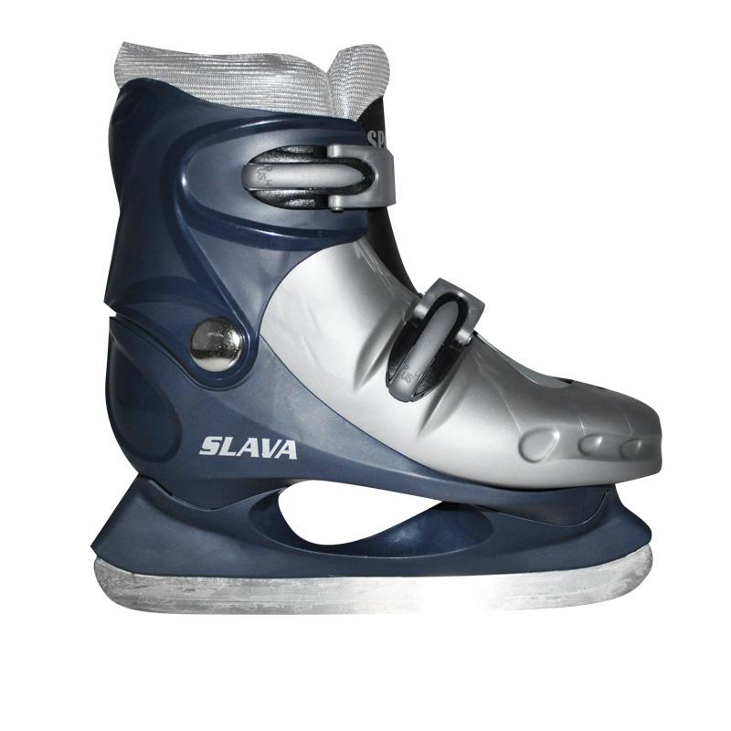 Lední brusle Spartan Slava modrá - S (29-32)