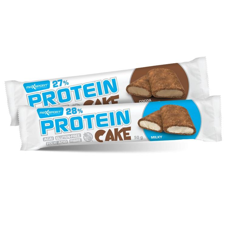 Proteinové sušenky MAX SPORT Protein Cake čokoláda - kokos