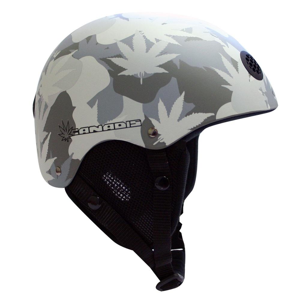 Univerzální ochranná helma WORKER Canadis grafika list - S (48-54)