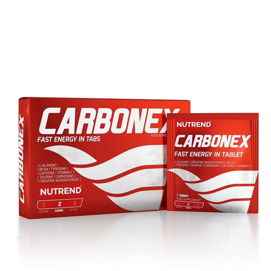 Energetické tablety Nutrend Carbonex 12 tablet