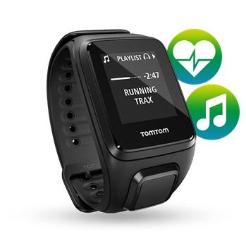 GPS hodinky TomTom Spark Fitness Cardio + Music + sluchátka