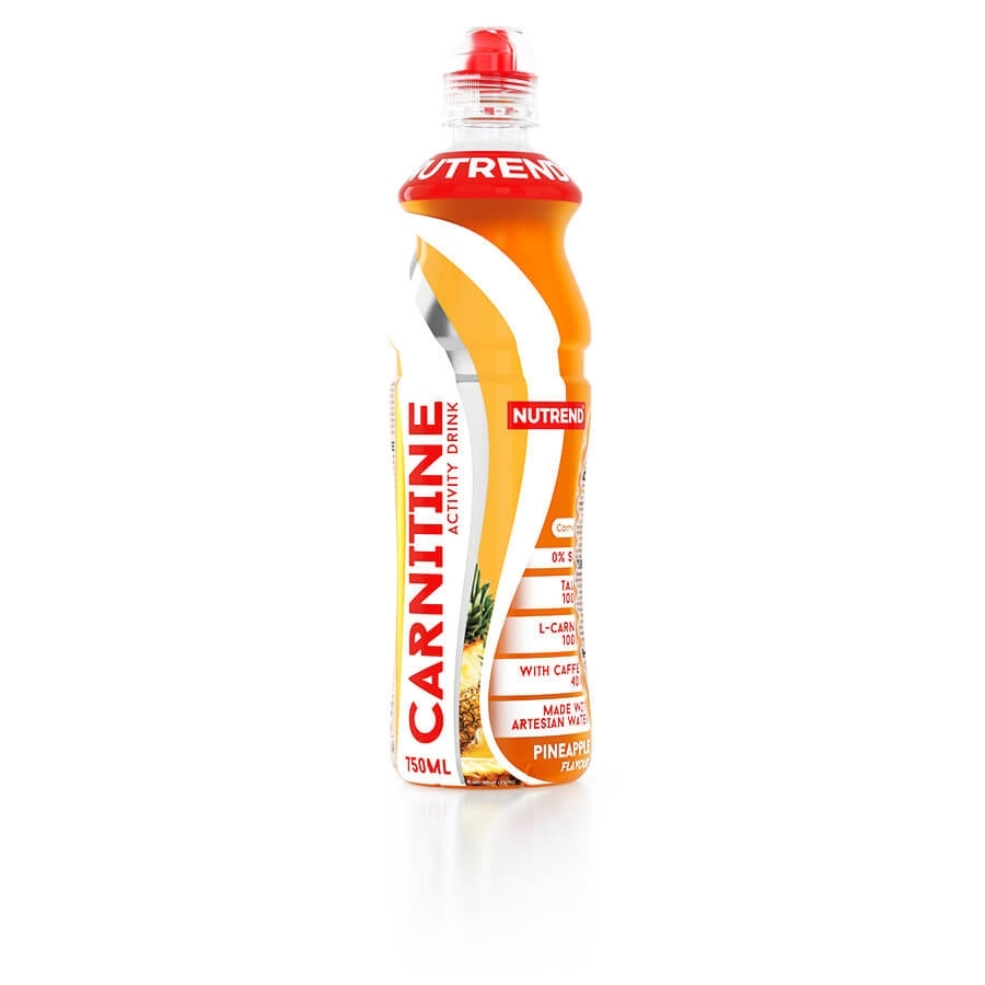 Nutrend Carnitine Activity Drink 750 ml s kofeinem zelený čaj-bezinky