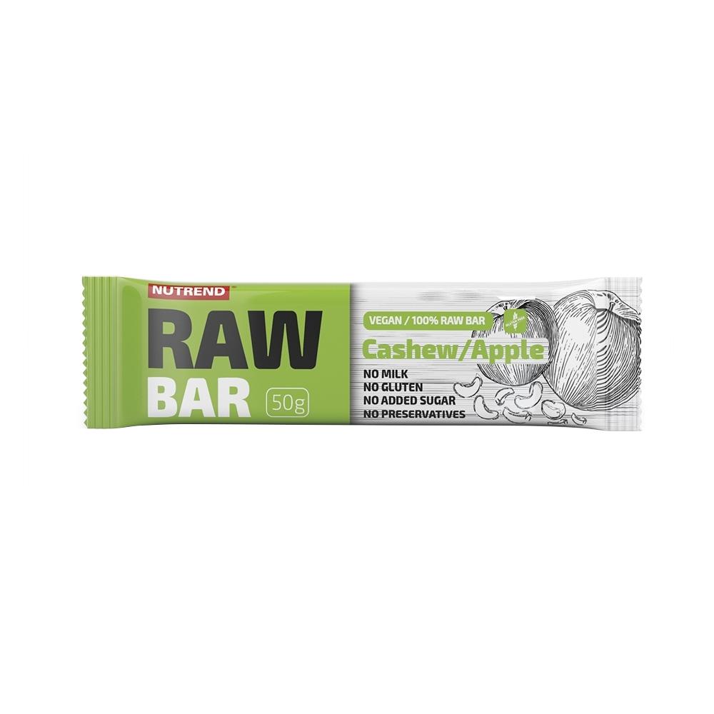 Tyčinka Nutrend Raw Bar 50 g kešu+jablko