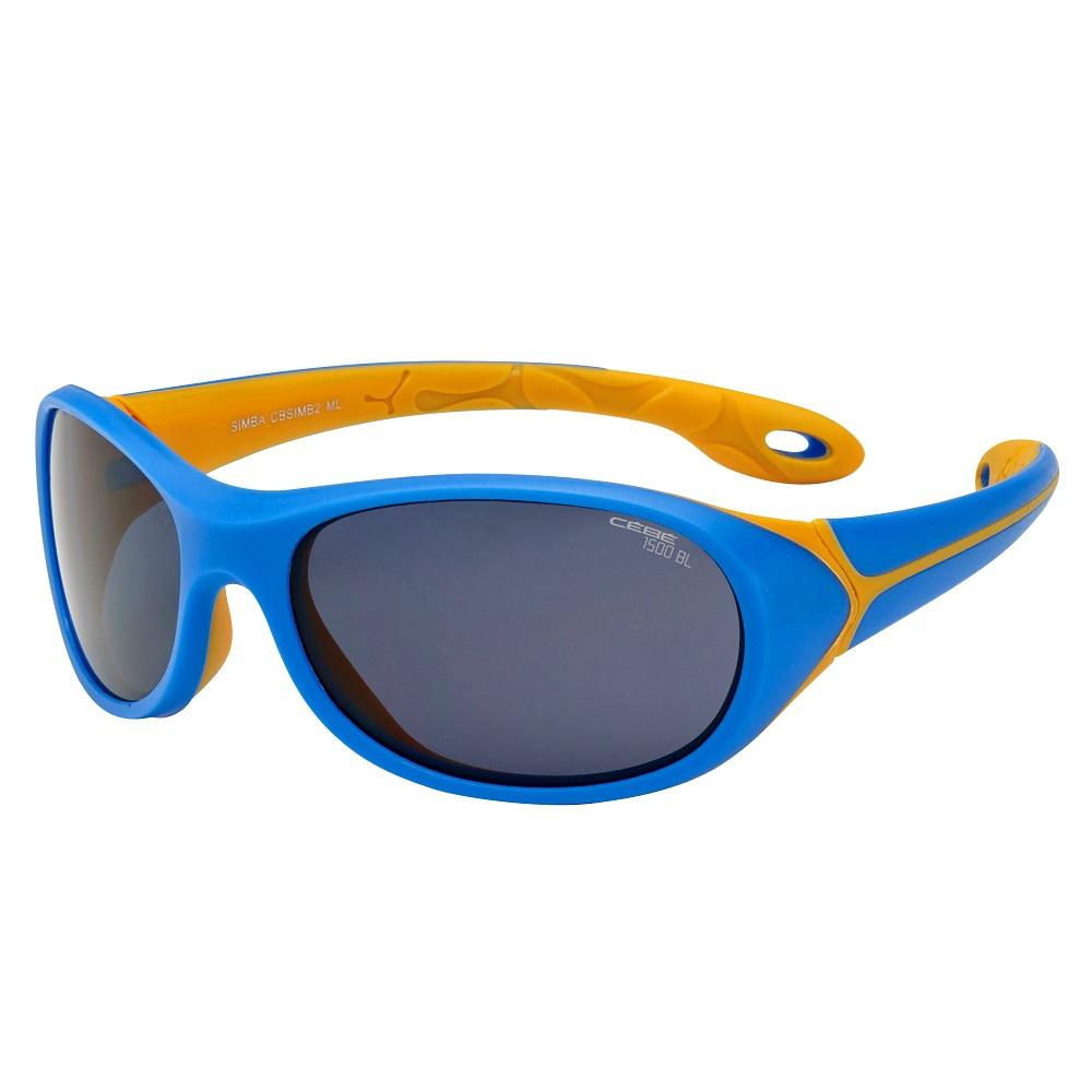 Dětské sportovní brýle Cébé Simba modro-oranžová