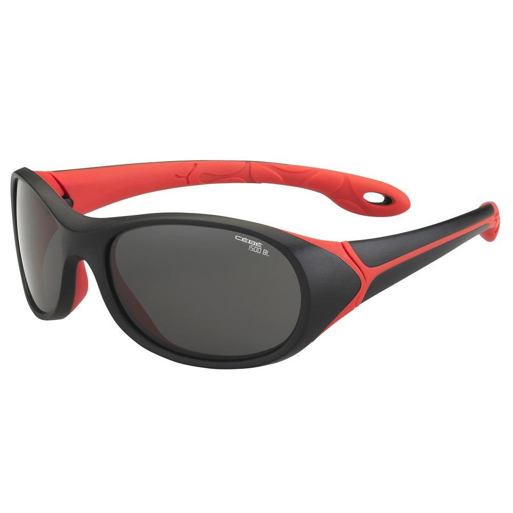 Dětské sportovní brýle Cébé Simba černo-červená