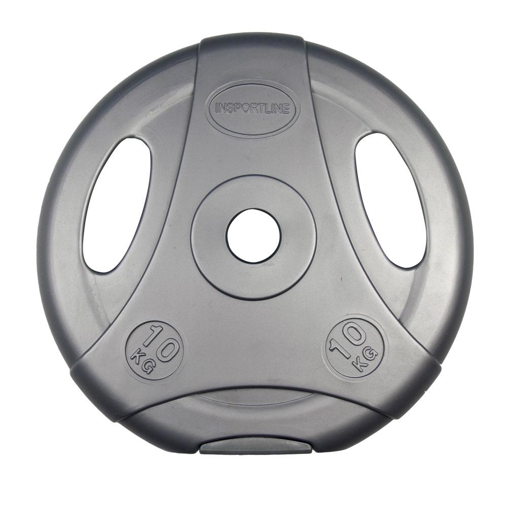 Cementový kotouč inSPORTline Ergo 10 kg šedý