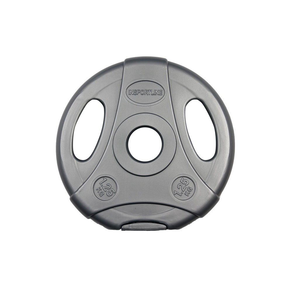 Cementový kotouč inSPORTline Ergo 1,25 kg šedý