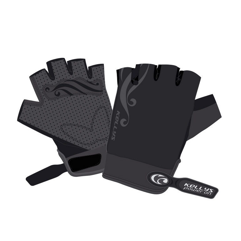 Dámské cyklo rukavice KELLYS SUNNY SHORT černá - XL