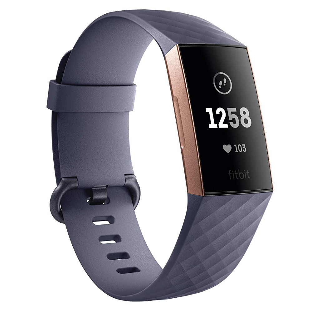 Fitbit Charge 3 Rose GoldBlue Grey