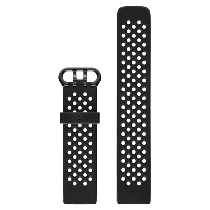 Náhradní řemínek Fitbit Charge 3 Sport Band Black L