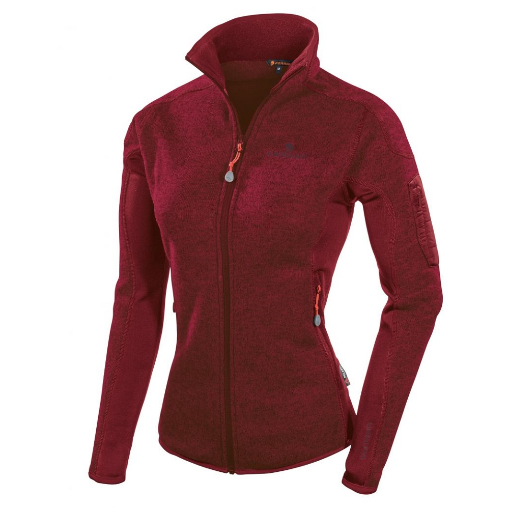 Ferrino Cheneil Jacket Woman New Bordeaux - XS