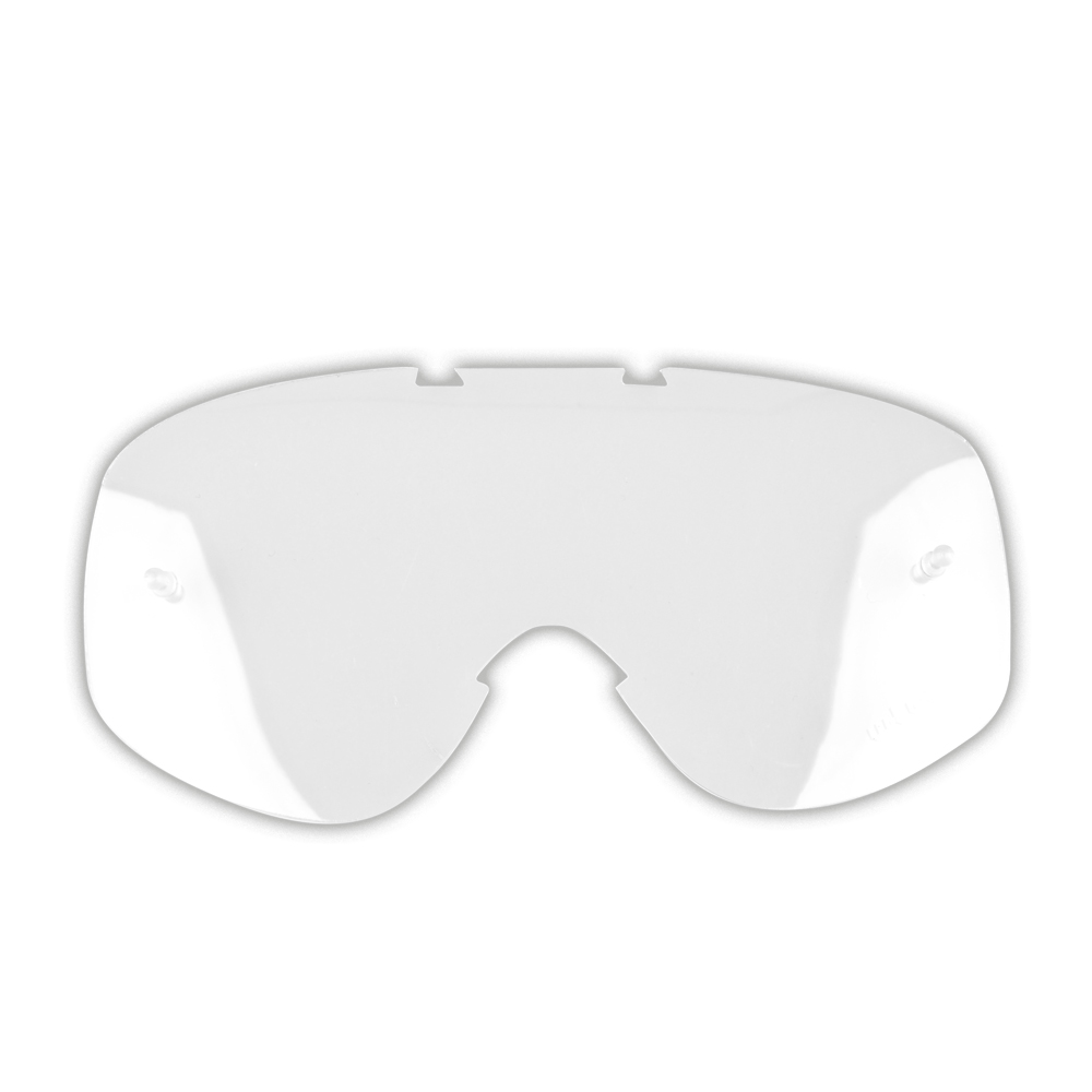 Náhradní sklo k moto brýlím W-TEC Spooner čiré