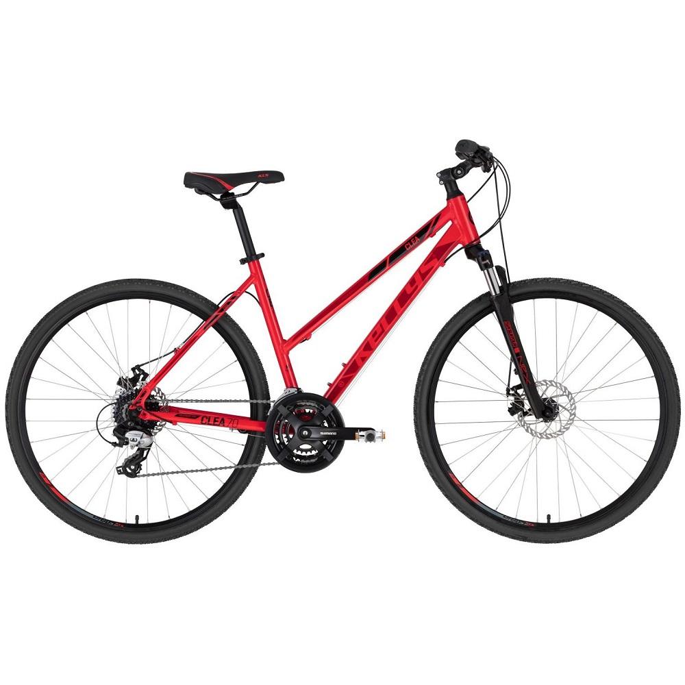 """Dámské crossové kolo KELLYS CLEA 70 28"""" - model 2020 Red - M (19'') - Záruka 10 let"""