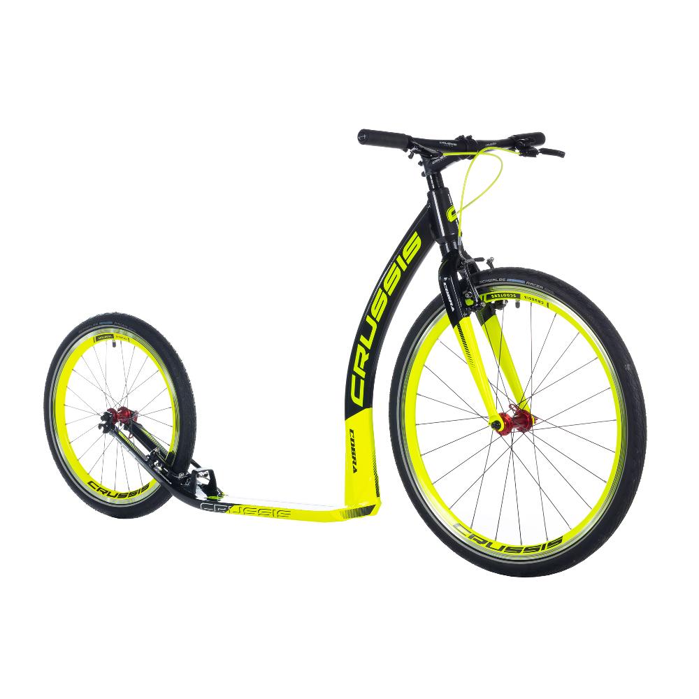 "Koloběžka Crussis Cobra 4.1 černo-žlutá 26""/20"""