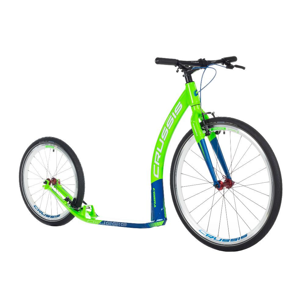 """Koloběžka Crussis Cobra 4.2 zeleno-modrá 26""""/20"""""""