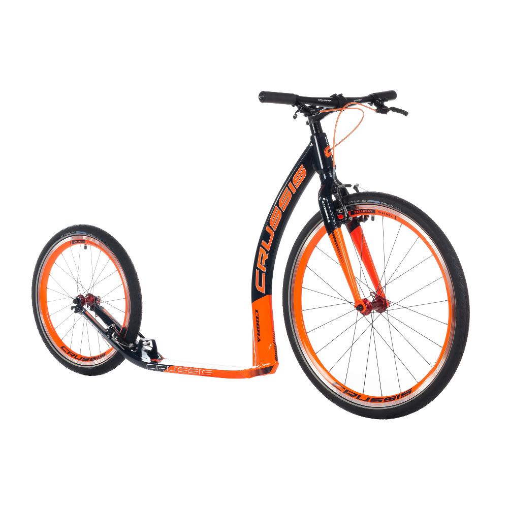 """Koloběžka Crussis Cobra 4.3 černo-oranžová 26""""/20"""""""