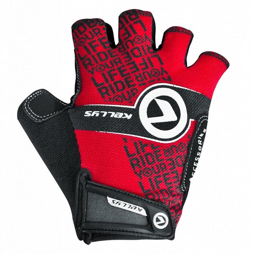 Cyklo rukavice KELLYS COMFORT NEW červená - S