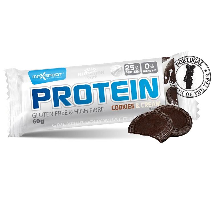 Proteinová tyčinka MAX SPORT GF cookies