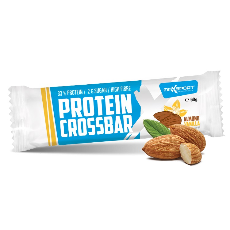 Proteinová tyčinka MAX SPORT Crossbar mandle - vanilka