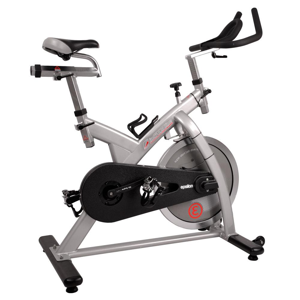 Cyklotrenažér inSPORTline Epsilon šedá - Záruka 10 let + Servis u zákazníka