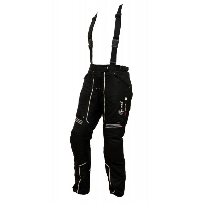 Dámské textilní moto kalhoty Spark Nora černá - XXS