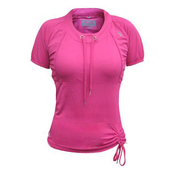 Dámské sportovní tričko ALEA růžová - S