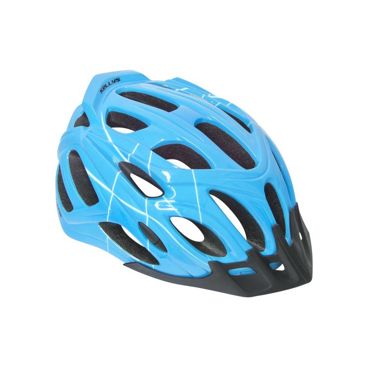 Cyklo přilba Kellys Dare modrá - S/M (54-57)