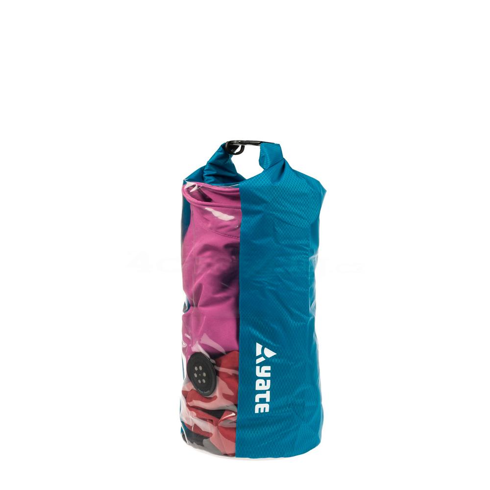 Nepromokavý vak s oknem a ventilem Yate Dry Bag 10l modrá