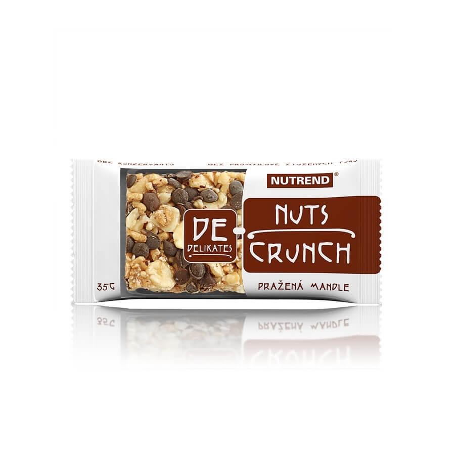 Tyčinka Nutrend 35g DeNuts Crunch pražené mandle