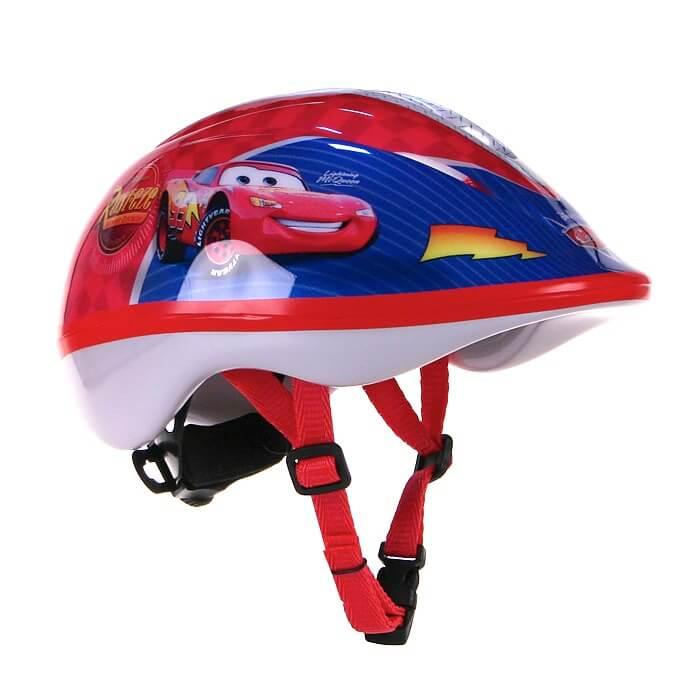 Dětská cyklo přilba Disney Cars modro-červená - XS (46-53)