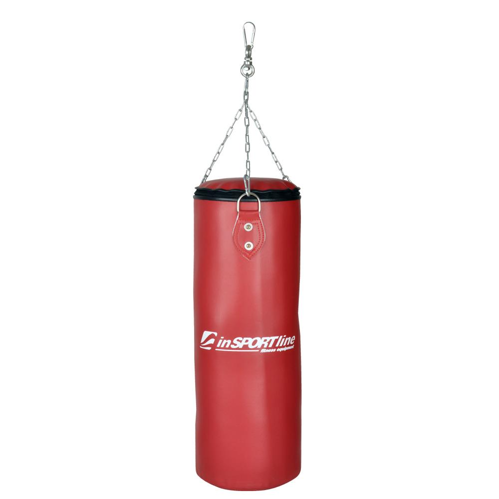 Dětský boxovací pytel inSPORTline 15 kg červená