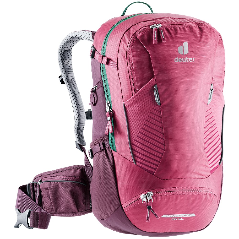 Turistický batoh Deuter Trans Alpine 28 SL ruby-blackberry