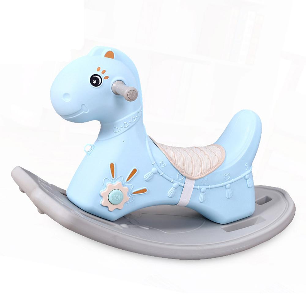 Houpací kůň inSPORTline Rockino  modrá