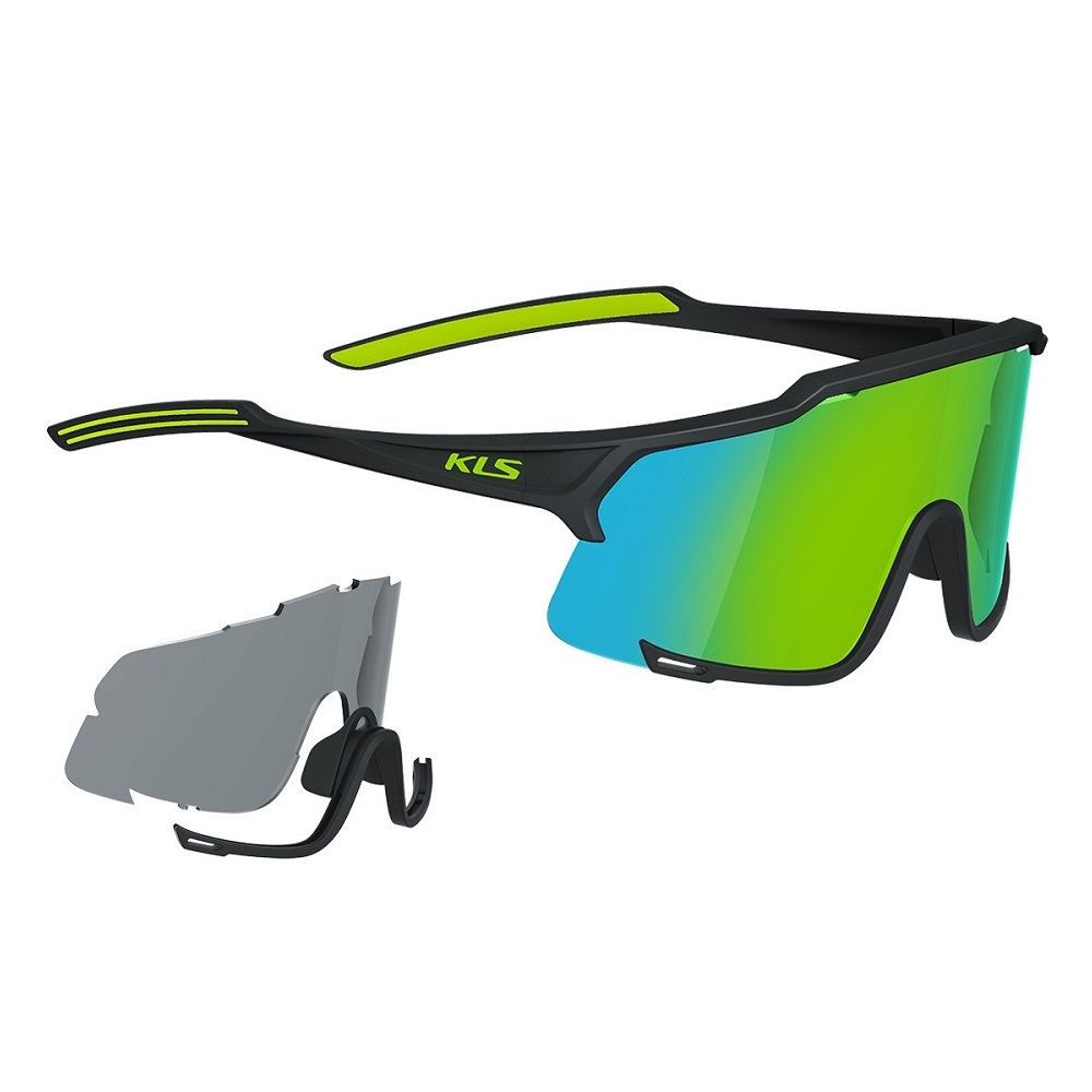 Kellys Dice Photochromic Black-Lime