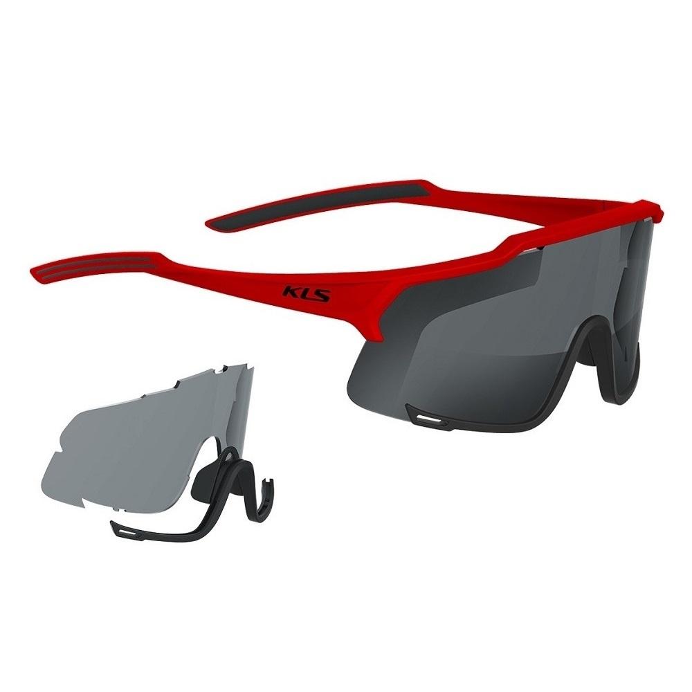 Cyklistické brýle Kellys Dice Photochromic Red