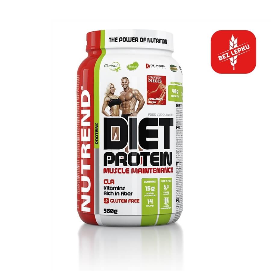 Práškový koncentrát Nutrend Diet Protein 560g čokoláda